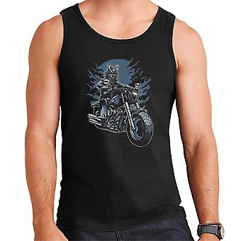Samurai Ride Motorcycle Men's Vest