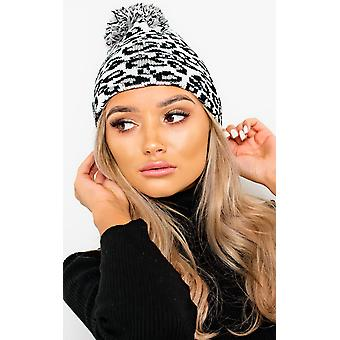 IKRUSH Womens Kenny Woven Knitted Beanie Hat