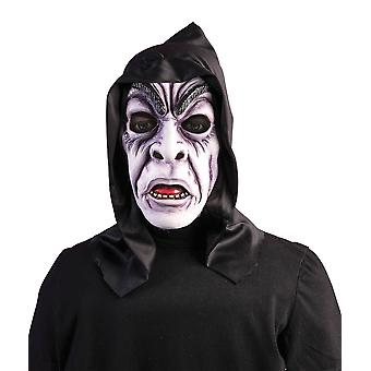 Hooded Zombie Ghoul Mask