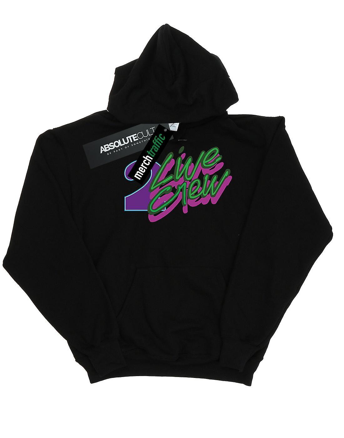 2 Live Crew Men's Neon Logo Hoodie
