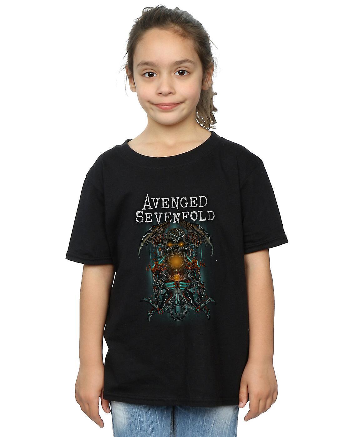 Avenged Sevenfold Girls Oracle Deathbat T-Shirt