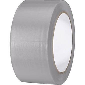TOOLCRAFT 832450GR-C 832450GR-C PVC tape grå (L x W) 33 m x 50 mm 1 ruller