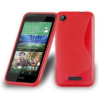 Custodia Cadorabo per HTC Desire 320 Case Cover - Custodia per telefoni cellulari in silicone TPU flessibile - Custodia protettiva in silicone Ultra Slim Soft Back Cover Bumper