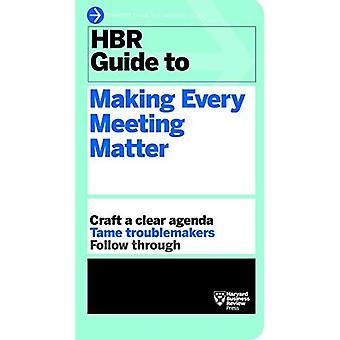 Guide HBR à rendre chaque question de réunion (Harvard Business Review Guides)