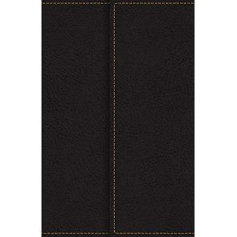 KJV, Referentie Bijbel, Compact, grote Print, Snapflap Leather-Look, zwart, rode Letter Edition, Comfort afdrukken