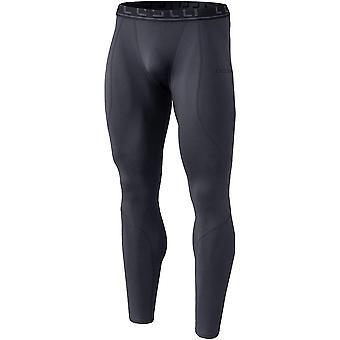 TSLA Tesla YUP43 Thermal Winter Gear Compression Pants - Dark Gray/Dark Gray