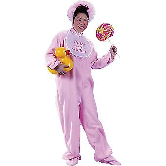 Pink Baby Adult Costume