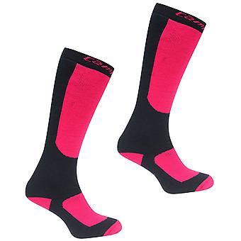 Campri Kids Snow Socks 2 Pack Juniors