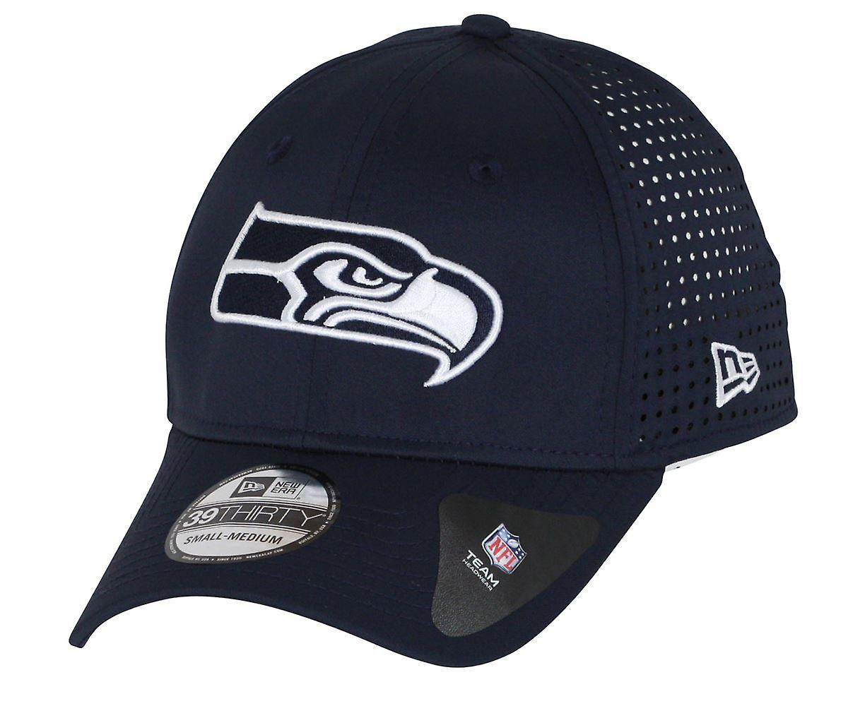 New Era Feather Perf 39Thirty Cap ~ Seattle Seahawks