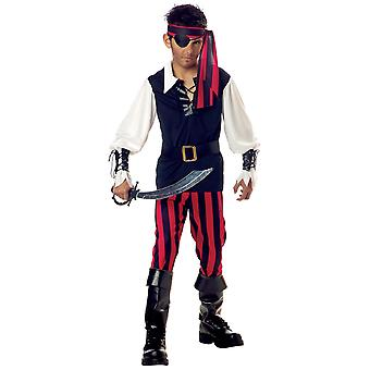 Cutthroat Pirate of Carribbean Jack Sparrow Captain Book Week Boys Costume