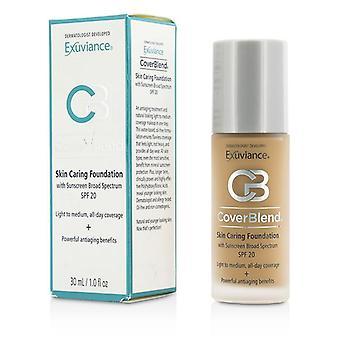 Coverblend Skin Caring Foundation Spf20 - # Desert Sand - 30ml/1oz