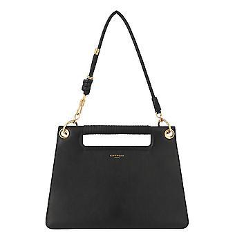 Givenchy Bb508fb0gv001 Women's Black Leather Shoulder Bag