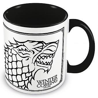 Game Of Thrones Colour Mug Stark