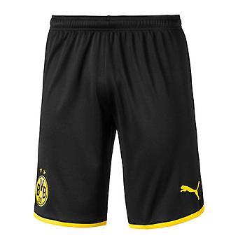 2019-2020 Borussia Dortmund Home Puma Shorts (Black) - Kids