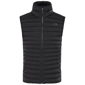 Il North Face Nero Mens Stretch giù gilet