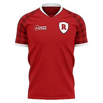2019-2020 Stade Reims Home concept voetbal shirt