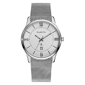 ORPHELIA Mens Analogue Watch Heritage Silver Stainless steel 153-7705-18