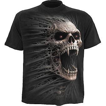 スパイラル - キャストアウト - メン&アポス;s半袖Tシャツ、ブラック