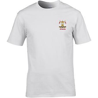 9º 12 Royal Lancers veterano-licenciado British Army bordados Premium T-shirt