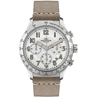 Mondia intrepid chrono Japanese Quartz Analog Man Watch with Mi757-1CP Cowskin Bracelet