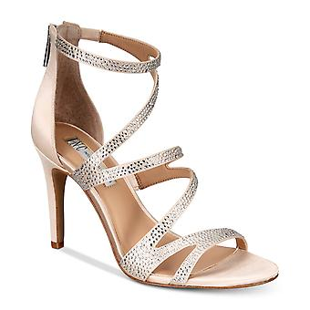 INC International Concepts Womens Regann2 Fabric Open Toe Special Occasion St...
