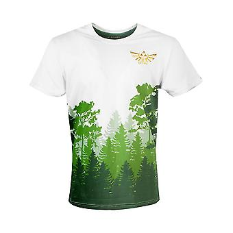 Zelda T-paita Hyrule-metsän legenda