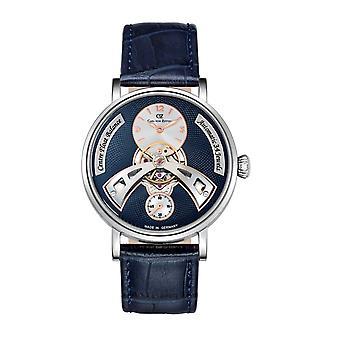 Carl von Zeyten Men's Watch Wristwatch Automatic Baden-Baden CVZ0042BL