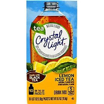 Crystal Light On the Go Lemon Iced Tea Drink Mix