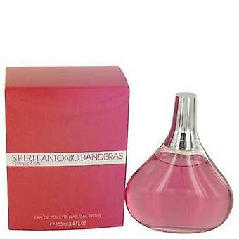 Spirit By Antonio Banderas Eau De Toilette Spray 3.4 Oz (women) V728-425525