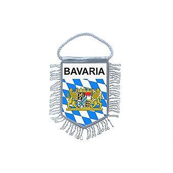 Fanion Mini Drapeau Pays Voiture Decoration Baviere Bavaria Allemagne