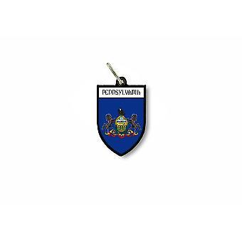 الباب مفتاح العلم الرئيسية جمع مدينة شعار الأسلحة الولايات المتحدة الأمريكية بنسلفانيا