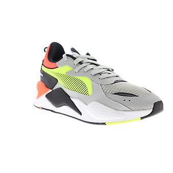 Puma RS-X Hard Drive  Mens Gray Textile Low Top Sneakers Shoes
