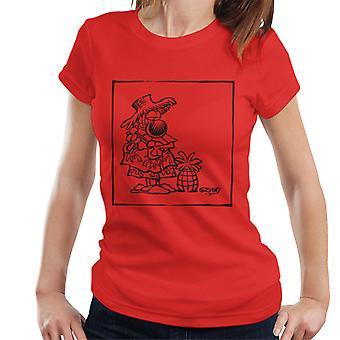 Grimmy Guitar Pineapple Women's T-Shirt