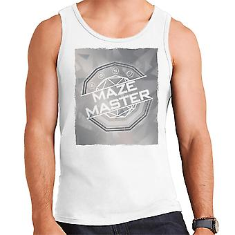 The Crystal Maze Silver Tone Men's Vest
