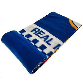 Real Madrid Fleece Blanket CQ