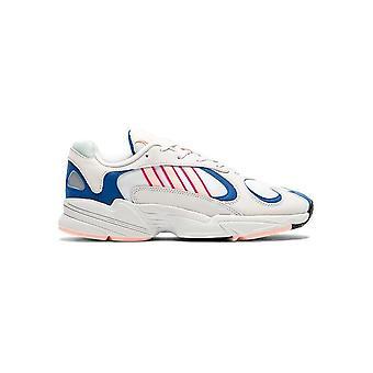 אדידס-נעליים-סניקרס-BD7654_YUNG-1-יוניסקס-לבן, כחול-בריטניה 9.0