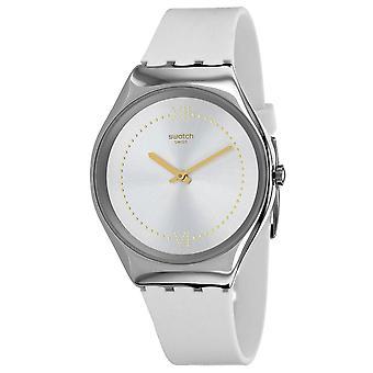 Swatch Men's Skindoree Silber Zifferblatt Uhr - SYXS108