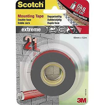 3M 40021915# Teollisuusteippi Scotch® Harmaa (L x W) 1,5 m x 19 mm 1 kpl