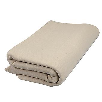 Cotton Fibre Stairs Dust Sheet - 7.2x0.9m (23.6'x3') Approx