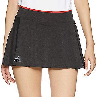 adidas Performance Mujeres Barricade Slim Fit Tenis Deportes Falda Skort - Negro