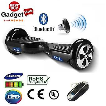"H1 - 6,5"" Carbon Black Bluetooth-Segway Hoverboard"
