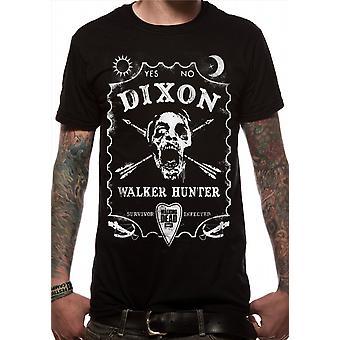 The Walking Dead Walker Hunter zombi t-shirt ufficiale