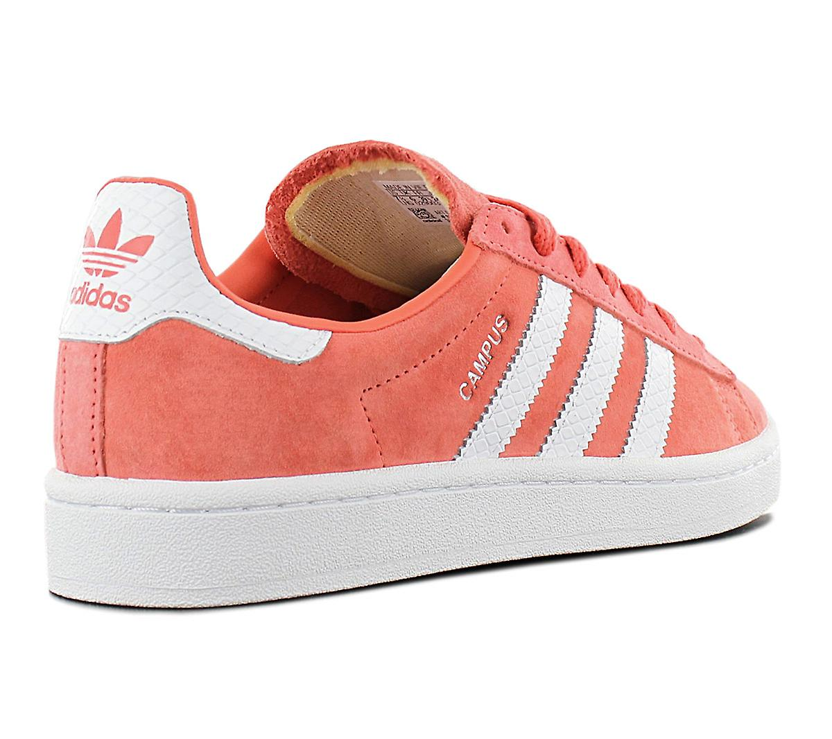 adidas Campus W CQ2099 Women's Shoes Red Sneakers Sports Shoes
