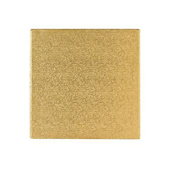 """Culpitt 16"""" (406mm) Kuchen Board Platz Gold Farn Pack von 5"""