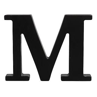 Black Large Capital Alphabet Letters-M