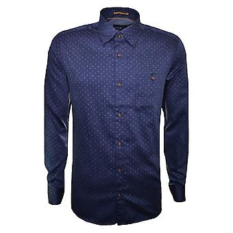 Ted Baker Men's Blue Maiter Long Sleeve Shirt