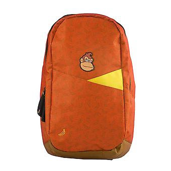 Donkey Kong Backpack Bag Bananas All over Print new Official Nintendo Red