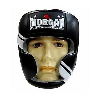 Morgan V2 Professionelle Leder Kopfschutz