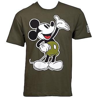 Mickey Mouse Army Grøn T-shirt