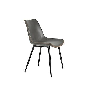 Light & Living Dining Chair 46x56x78cm Kovac Grey